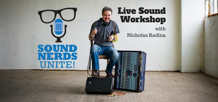 Kentucky - Sound Nerds Unite! Live Sound Workshop with Nicholas Radina @ Event Enterprises Shop | Bellevue | Kentucky | United States