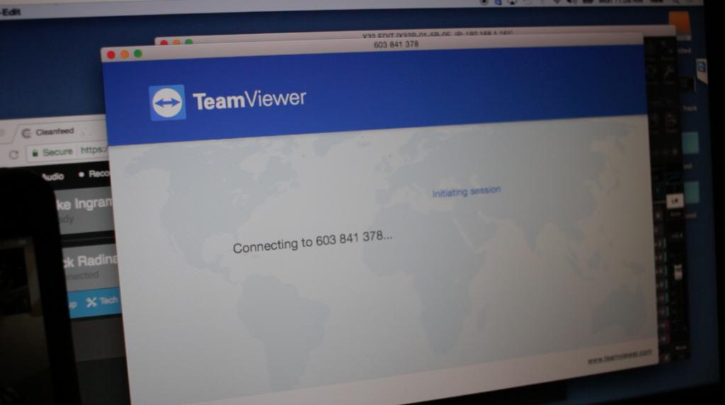 TeamViewer Nicholas Radina Cleanfeed